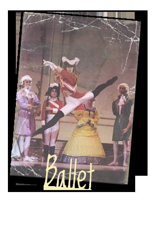 Menu ballet