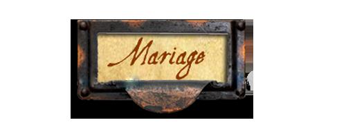Titre mariages